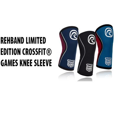 Rehband CrossFit® Games Limited Edition 5 mm Neopren Rx-Kniebandage – Bild 5
