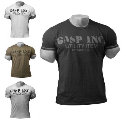 GASP Fitness und Workout T-Shirt 001