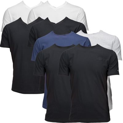 Kappa T-Shirts 2er-Pack, Rundhals, V-Neck – Bild 1