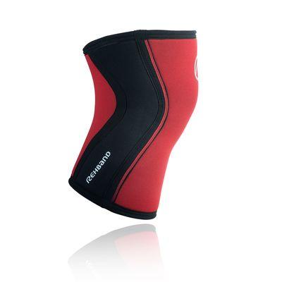 Rehband 5 mm Neopren Rx-Kniebandage, Kniestütze-Rot – Bild 3