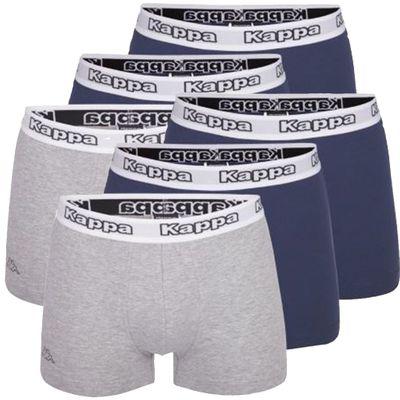 Kappa Boxershorts Cedrick 6-er Pack [NAVY+GRAU] – Bild 4