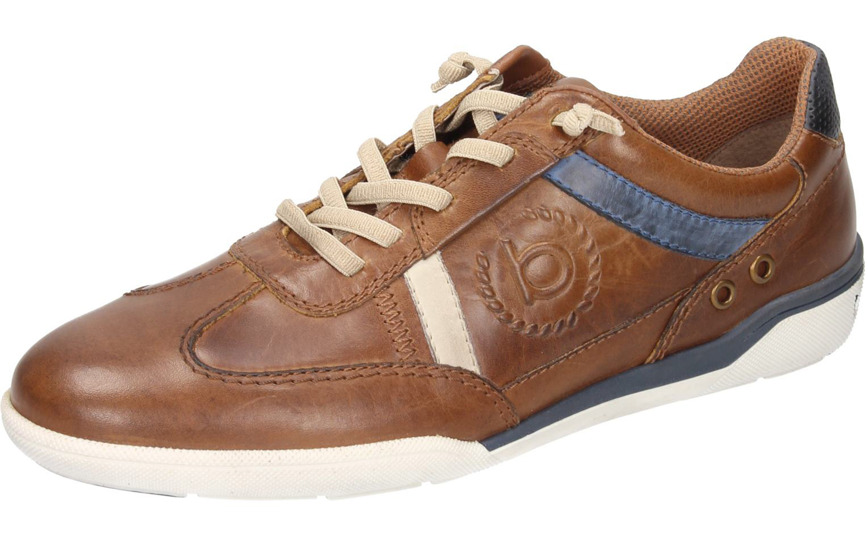 first rate 62db2 d7228 Bugatti Herren Sneaker cognac