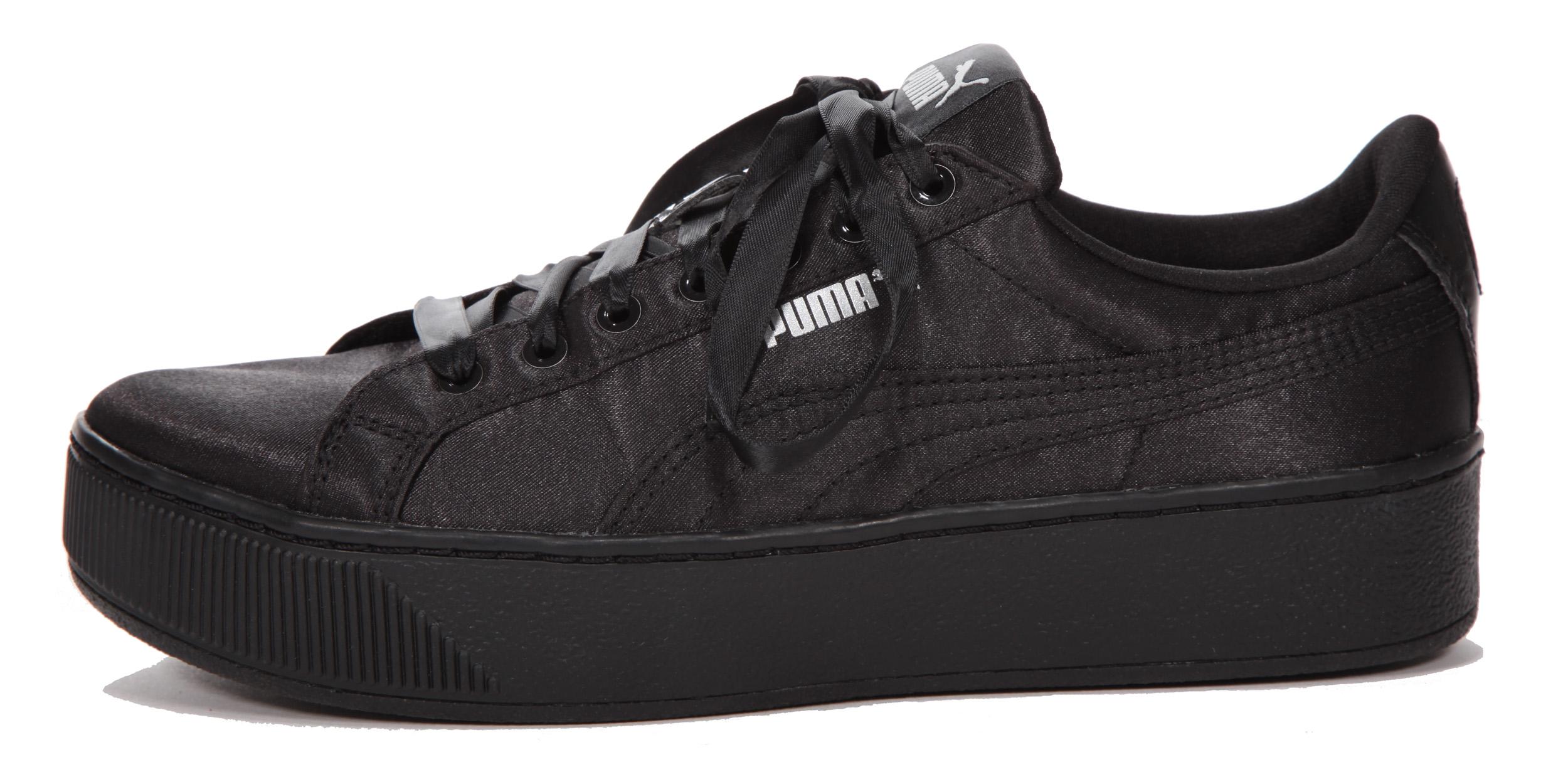 Puma Damen Plateau Sneaker schwarz