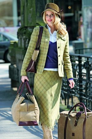Barclay Tweed Skirt