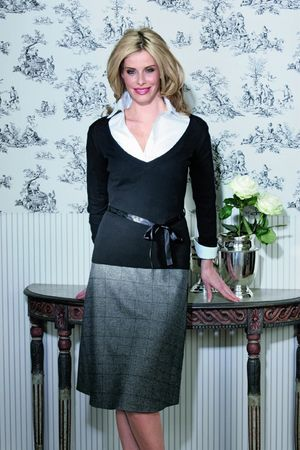 Lynton Glencheck Skirt