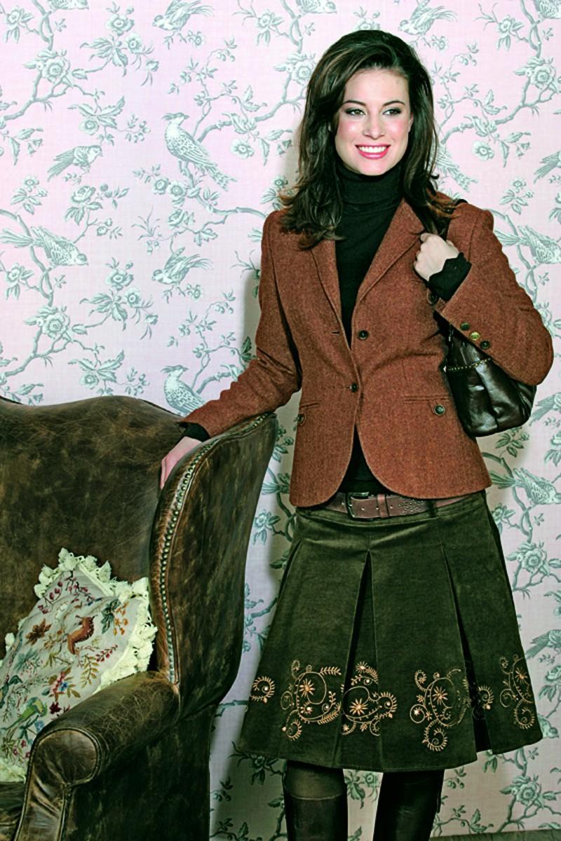 brigitte von boch damen phyllis tweedjacke 94 95. Black Bedroom Furniture Sets. Home Design Ideas