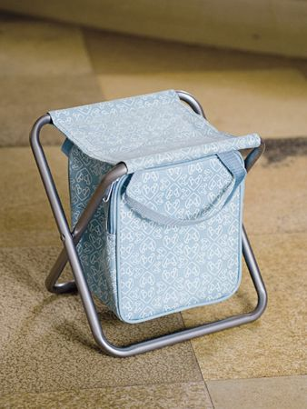 Shella Stool with Cooling Bag