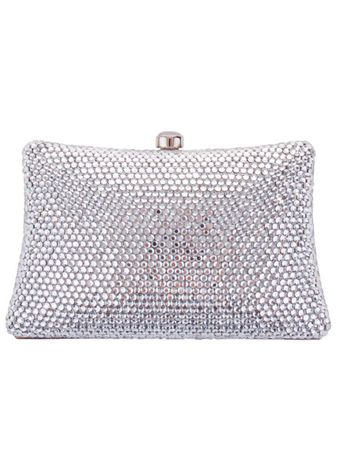 Grace Evening Bag Silver – Bild 1