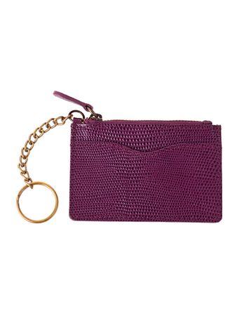 Casta Schlüsseletui violett