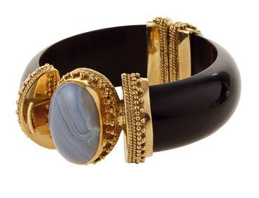 Cicero Bracelet Black big – Bild 1