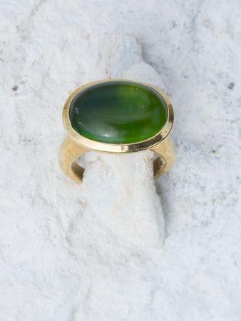 Oreana Ring Peridot – Bild 2