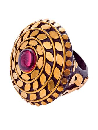 Fallon Ring Brass – Bild 1