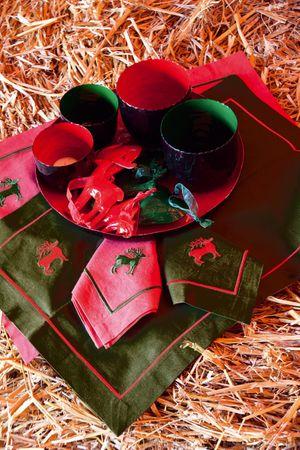 Santa Luce Teelicht rot groß – Bild 5