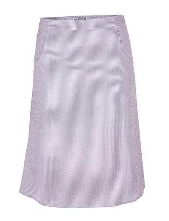 Gozzo Seersucker Skirt