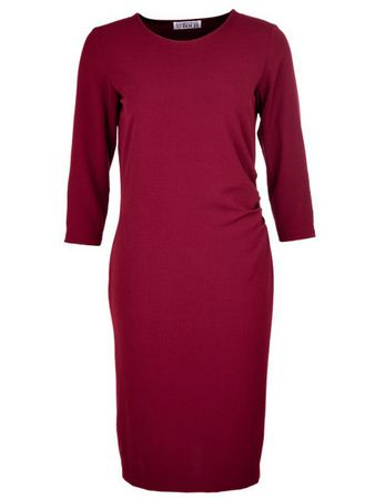 Lugazi Dress Burgundy – Bild 1