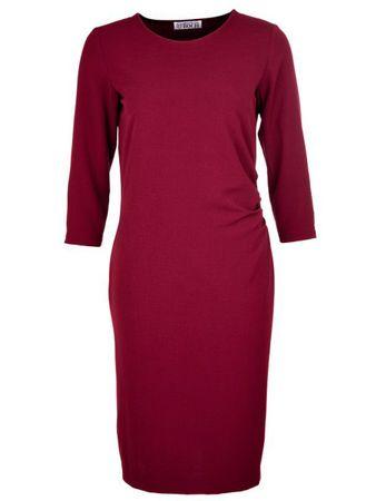 Lugazi Kleid burgund – Bild 1