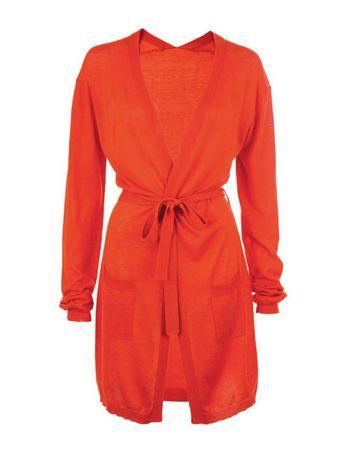 Eringa Maxi Cardigan orange – Bild 1