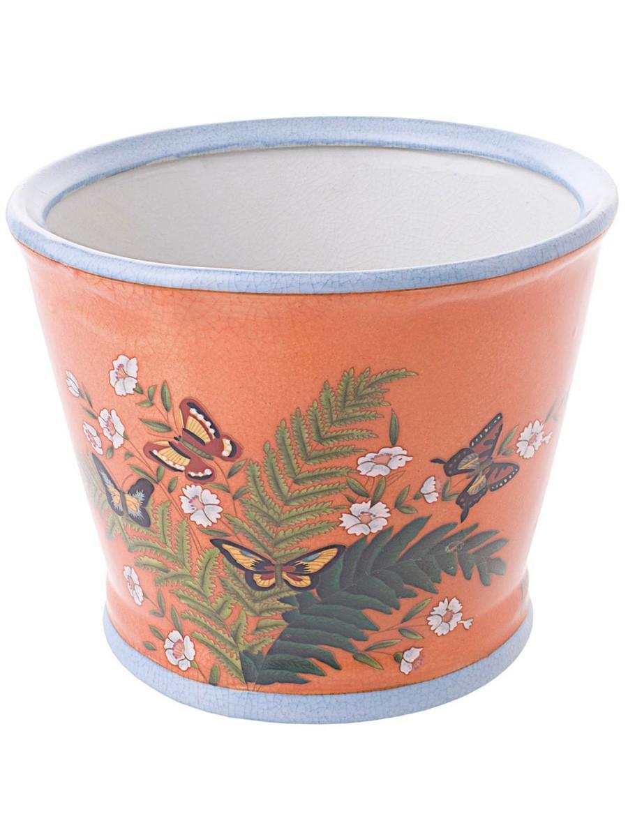 milena cachepot coral big homeware vases and cachepots. Black Bedroom Furniture Sets. Home Design Ideas