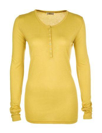 Peel Langarm-Shirt Marigold