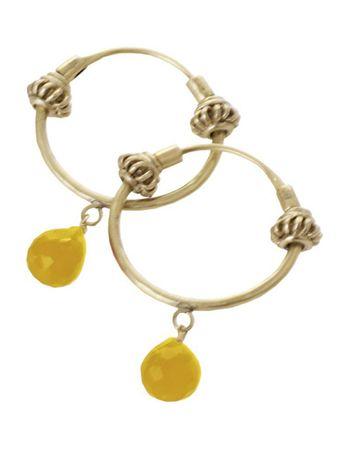 Senton Earrings Yellow