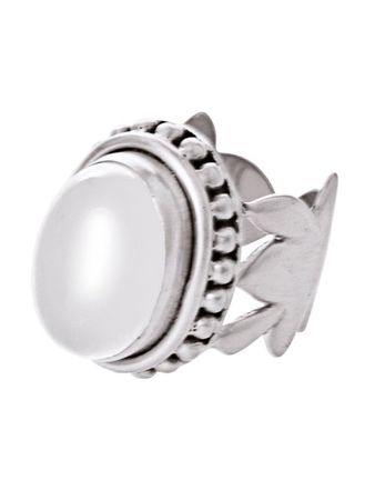 Banquo Ring silver plated White
