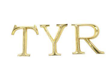 Hieroglyph Deco letters – Bild 9