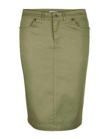 Vadue Skirt khaki – Bild 1