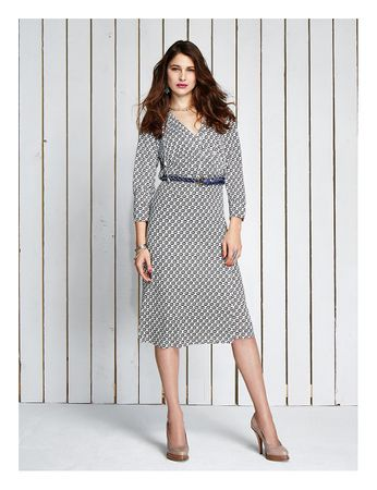 Cabazon Jersey Wrap Dress – Bild 3