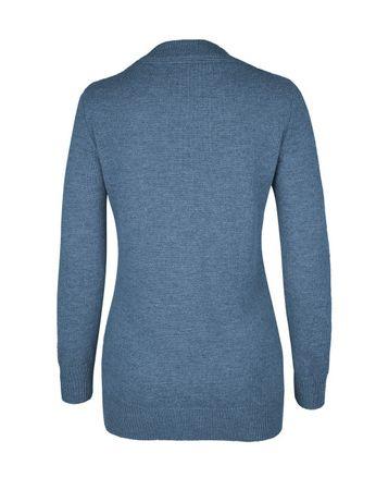 Moray Knitted Jacket Blue – Bild 3