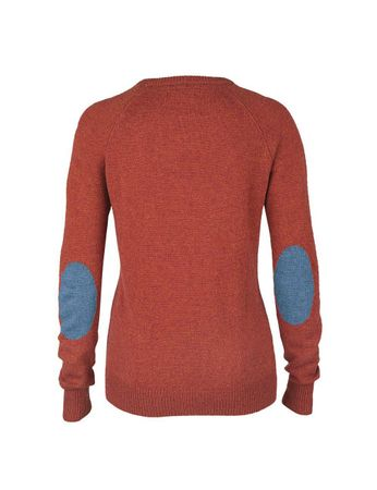 Moray Knitted Jumper Red-orange – Bild 2