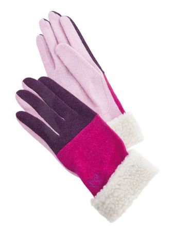 Morningside Gloves Pink/Purple