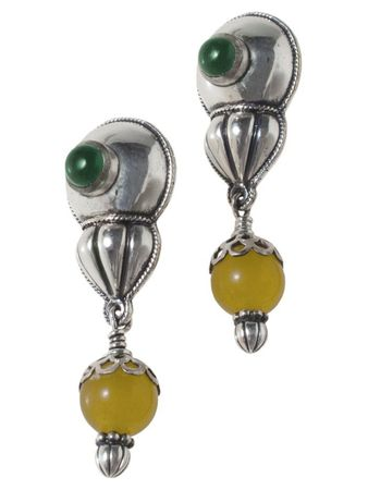 Regia Earrings Green – Bild 1