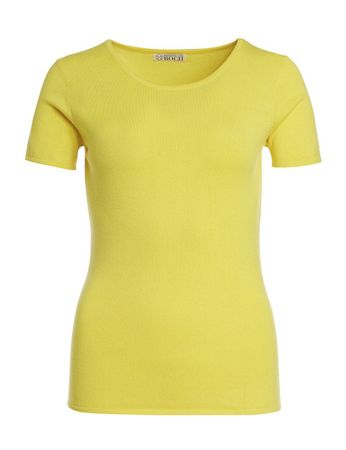 Borrego Strick-Shirt lemon