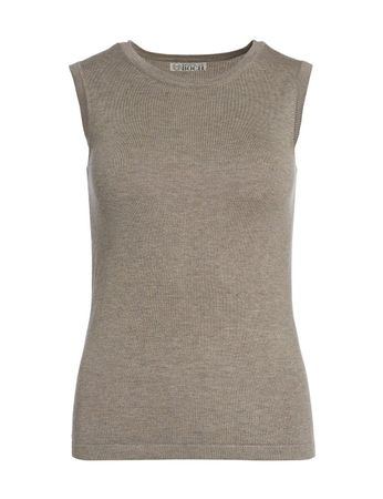 Riverside Knitted Top Silver Grey – Bild 1