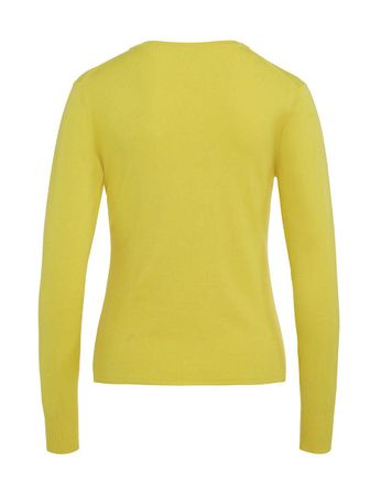 Salton Cardigan V-Neck lemon – Bild 2