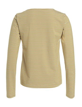 Portola Longsleeve-Shirt Honey/White – Bild 2