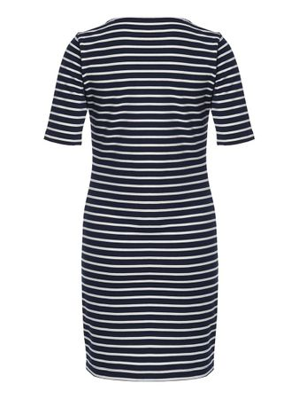 Portola Dress blue stripe – Bild 3
