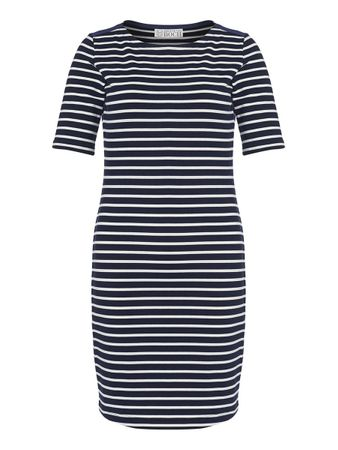 Portola Dress blue stripe – Bild 1