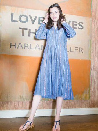 Marnie Kleid blau – Bild 2