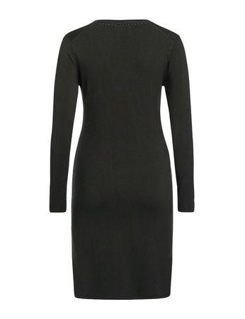 Aclare Strick-Kleid olivgrün – Bild 2