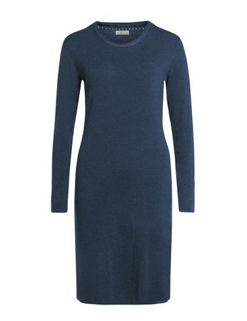 Aclare Knitted Dress Medium Blue – Bild 1