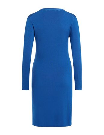 Aclare Knitted Dress azurblau – Bild 2