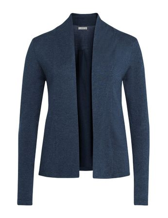 Chauny Knitted Cardigan Medium Blue – Bild 1