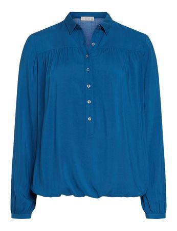 Balmont Bluse azurblau – Bild 1