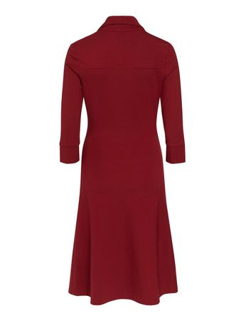 Millet Stretch-Dress Burgundy – Bild 2