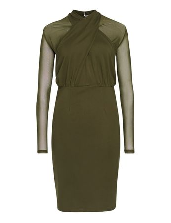 Sainte-Croix Dress Olive Green – Bild 1