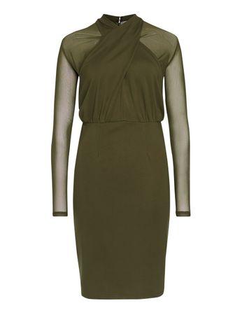 Sainte-Croix Kleid olivgrün – Bild 1