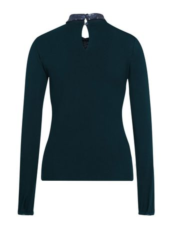 Poincy Jersey-Shirt Navy – Bild 2