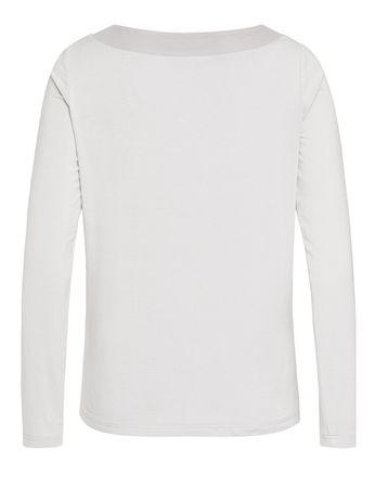 Cammo Jersey-Shirt Mesh silbergrau – Bild 2