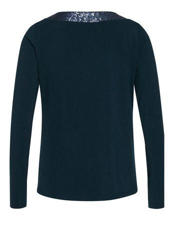 Cammo Jersey-Shirt Sequins Navy – Bild 3